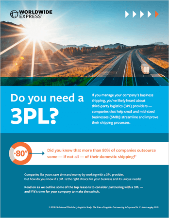 Do You Need a 3PL eGuide